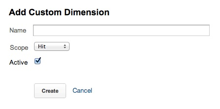 Google Analytics Dimension